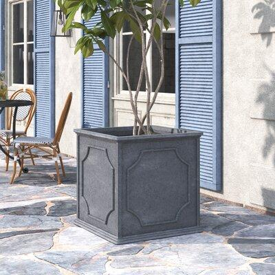 Darby Home Co Carmina Fiberglass Clay Composite Pot Plant...