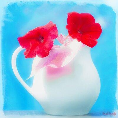 "HadleyHouseCo ""Passion in a Pitcher"" by Hal Halli Paintin..."