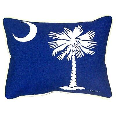 Betsy Drake Interiors Palmetto Moon Indoor/Outdoor Lumbar...
