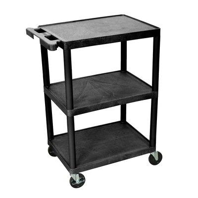 luxor High Open Shelf Endura Video Table AV Cart LE40