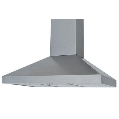 "Windster 30"" 550 CFM Ducted Wall Mount Range Hood RA-7730SS"