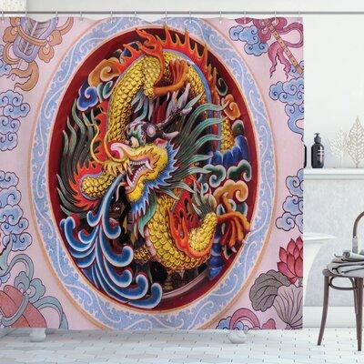 World Menagerie Oxon Dragon Chinese Dragon With Horns Man...