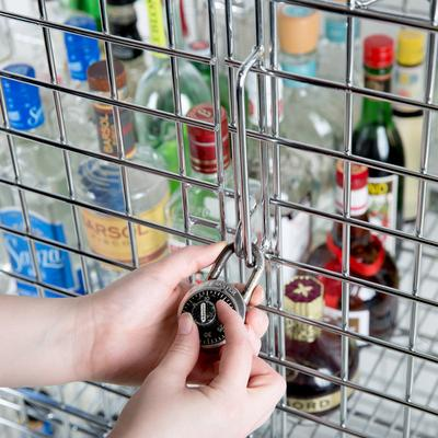 "Wire Security Cage - 18"" x 36"" x 63"""