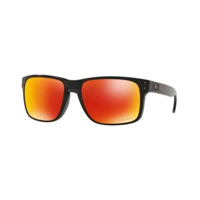 4c73b567c0 Oakley Sunglasses Holbrook 9102F1-55 - Polished Black Frame Prizm Ruby  Polarized Lenses