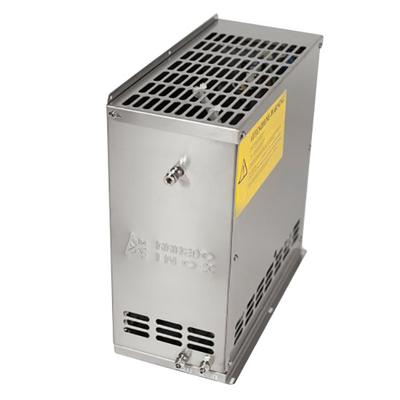 "Stagionello 36"" Glass Door Stainless Steel Meat Curing Cabinet - 330 lb. / 150 kg., 220V, 3500W"
