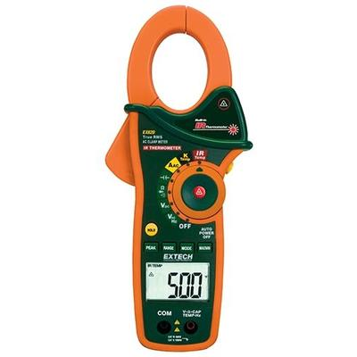 Extech Instruments Tools Clamp Dmm + Ir Therm Trms 1000 A...