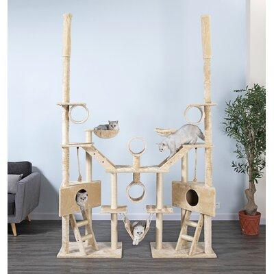 "GoPetClub 92"" Huge Multi Condo Cat Tree FC02"