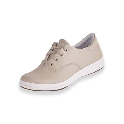 Women's Janey II Leather Casuals by Grasshoppers, Grey Si...