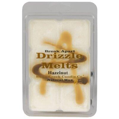Swan Creek Candle Drizzle Hazelnut Scented Wax Melt Candl...