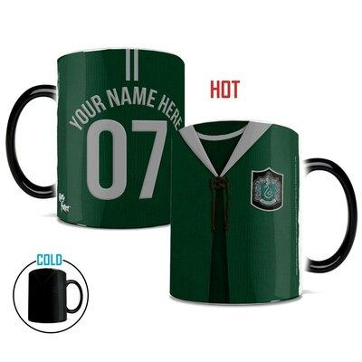 Morphing Mugs Harry Potter Slytherin Quidditch Personaliz...