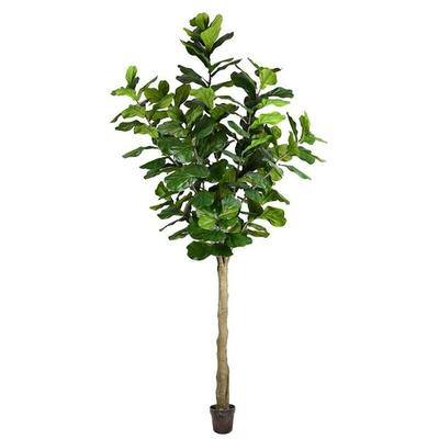 Vickerman 525630 - 10' Potted Fiddle Tree 184Lvs (TB18029...