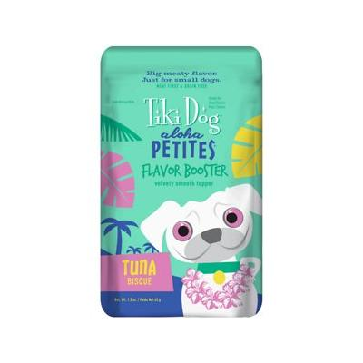 Tiki Dog Aloha Petites Flavor Booster Tuna Bisque Grain-F...