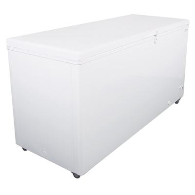 Kelvinator Commercial KCCF210WH 70.87 Mobile Chest Freezer w/ Wire Storage Basket - White, 115v
