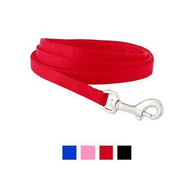 Frisco Solid Nylon Dog Leash, Red, 6-ft, 3/8-in - 192268004118