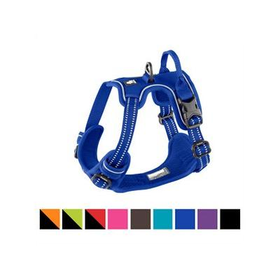 Chai's Choice 3M Reflective Dog Harness, Royal Blue, Small