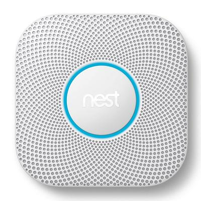 Nest Protect Wired Smoke & Carbon Monoxide Alarm (2nd Generation), Multicolor