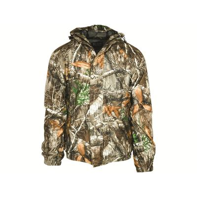 MidwayUSA Men's Cold Bay Waterproof Rain Jacket Realtree EDGE Camo 2XL