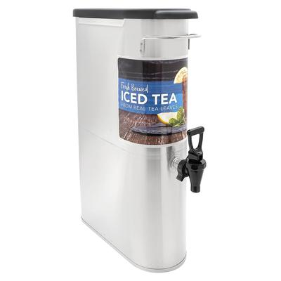 Bunn TDO-N-3.5 3.5 gal Narrow Iced Tea Coffee Dispenser w/o Handles