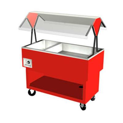 Duke OPAH-2H2C Hot/Cold Portable Buffet, (2) Ice Cold Pan & (2) Hot Well, 120 V