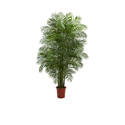 Nearly Natural Green 7.5-Foot Areca Palm Tree UV Resistan...
