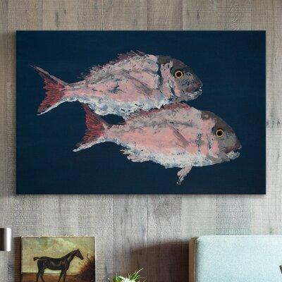 Marmont Hill Red Porgy' Painting Print on Wrapped Canvas ...