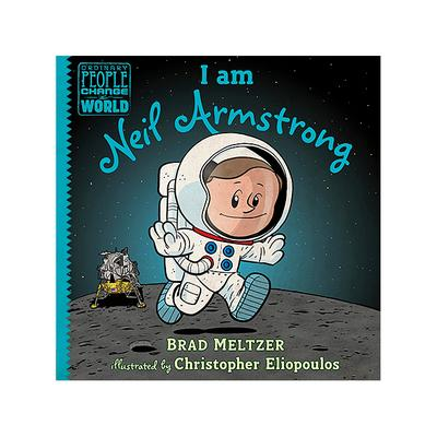Random House I am Neil Armstrong Hardcover