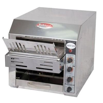 BakeMax BMCT300 Conveyor Toaster - 360-Slices/hr w/ 2.5 P...