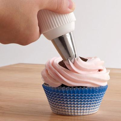 """Ateco 6438 2"""" x 1 1/4"""" Blue Striped Baking Cups (August T..."""