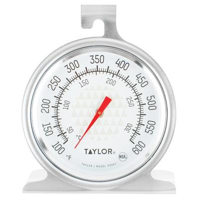 """Taylor 3506 TruTemp 2 1/2"""" Dial Oven Thermometer"""