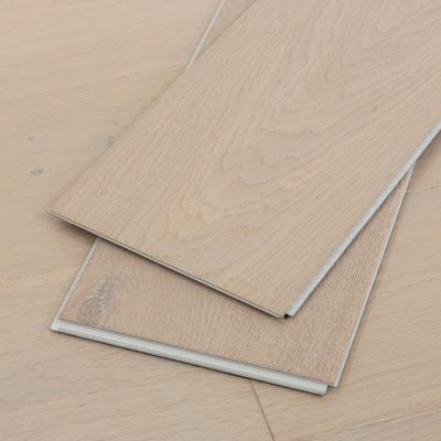 Water Resistant Hardwood Flooring, Wide Click, Taupe, Sample