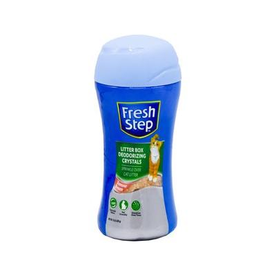 Fresh Step Summer Breeze Cat Litter Deodorizing Crystals, 15-oz bottle