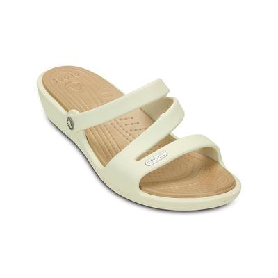 Crocs Oyster / Gold Women's Patricia Sandal Shoes on Sale