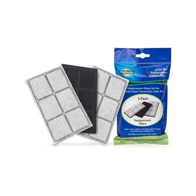 PetSafe Simply Clean Self-Cleaning Litter Box Replacement Carbon Filters, 3-pack