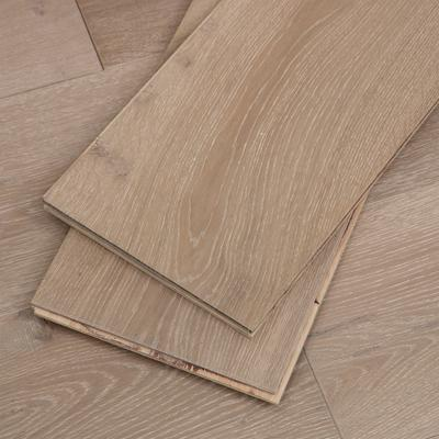 Light Brown Hardwood Flooring, 4mm veneer, Sample