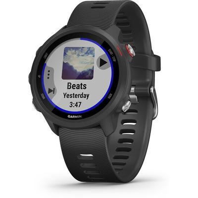 Garmin - Garmin Forerunner 245 Music Black GPS Running Watch