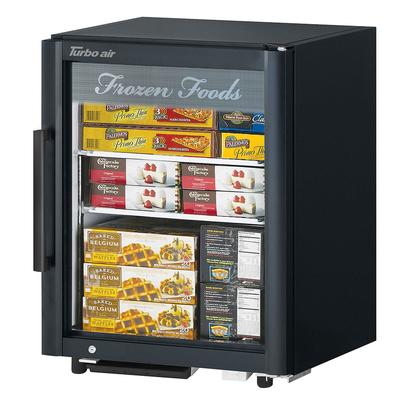 Turbo Air TGF-5SD-N 25 Countertop Refrigerator w/ Front Access - Swing Door, Black, 115v on Sale