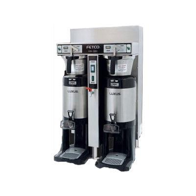 Fetco IP44-52H-20 Automatic Twin Coffee Brewer w/ 14 gal/hr Output, 220-240v/1ph on Sale