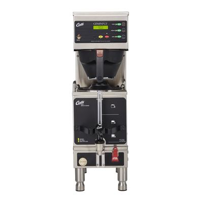 Curtis GEMSS63A1000 Automatic Coffee Brewer w/ (1) Lower Warmer & Hot Water Faucet, 120/220v