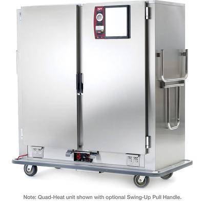 Metro MBQ-180D Heated Banquet Cart - (180) Plate Capacity, Stainless, 120v