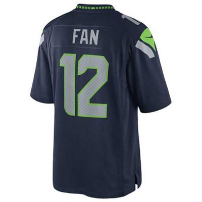 Nike Kids' Twelfth Man Seattle Seahawks Game Jersey, Big Boys (8-20) - Blue