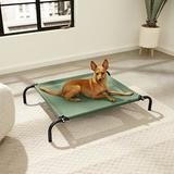 FurHaven Reinforced Elevated Dog Bed, Forest, Small