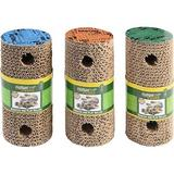 Multipet Cardboard Scratch Roller Cat Toy, Color Varies