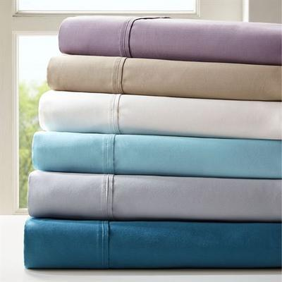 Breathless Sheet Set, California King, Gray