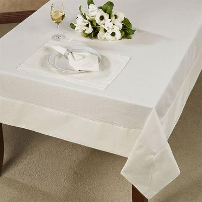 Corra Oblong Tablecloth, 70 x 104, Natural
