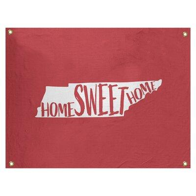 East Urban Home Home Sweet Tennessee Wall Tapestry Polyester In Red Size 59 H X 80 W Wayfair Bbbd1cf307b448feb7331d052712585a Shefinds