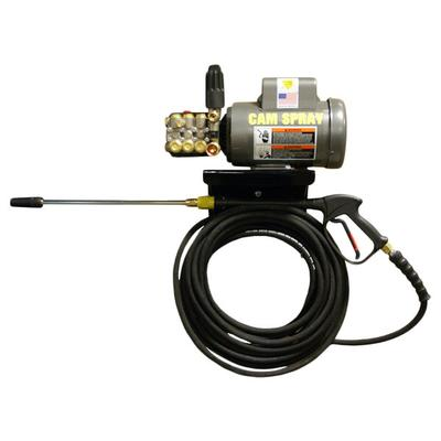 Cam Spray 2040EWM3 Wall Mount Electric Cold Water Pressure Washer with 50' Hose - 2000 PSI; 4.0 GPM; 3 Phase
