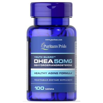 Puritan's Pride DHEA 50 mg-100 Tablets