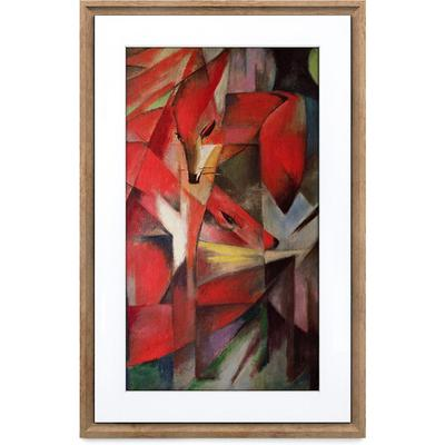 Netgear Meural Canvas II Smart Art Frame- Dark Wood 21.5 Diagonal 16x24 Frame