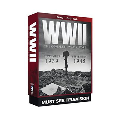 50% PRICE DROP: WWII Diaries: Complete War Report 19 DVD Set