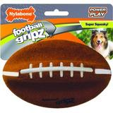 Nylabone Power Play Football Gripz Dog Toy, Medium